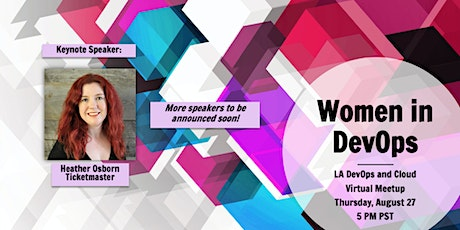 Virtual Meetup: Women in DevOps tickets
