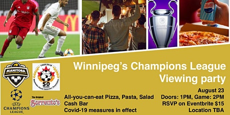 Winnipeg's Champions League Viewing Party @ Sorrento's tickets