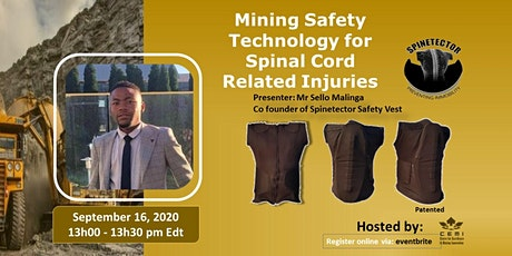 Mining Safety Technology for Spinal Cord Related Injuries tickets
