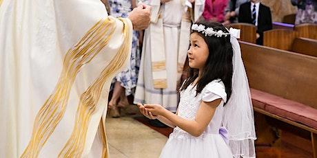 First Communion at Regular Sunday Mass - Sunday Oct 11 tickets