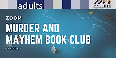 Virtual Murder and Mayhem Book Club tickets