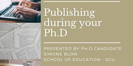 Publishing during your Ph.D tickets
