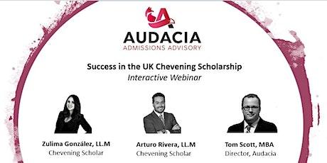 UK Chevening Scholarship Success: Interactive Webinar tickets