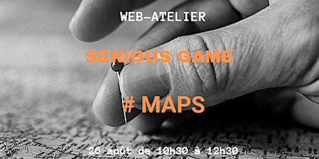 WEB-ATELIER - SERIOUS GAME #MAPS sur l'intérêt des standards visuels billets