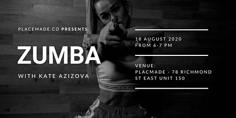 Zumba With Us At Placemade tickets