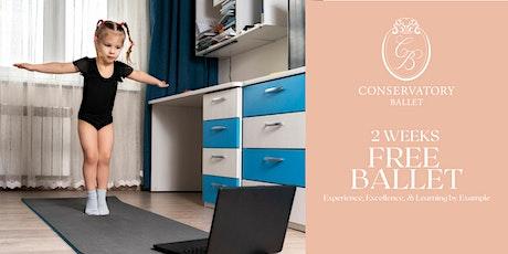 TWO WEEKS FREE Online & Interactive Ballet Class - Beginner Ballet tickets