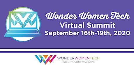Wonder Women Tech Virtual Summit and Festival tickets