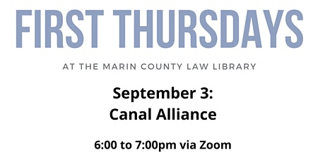 First Thursdays:  Canal Alliance tickets