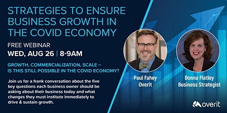 Strategies to Ensure Business Growth in the COVID Economy tickets