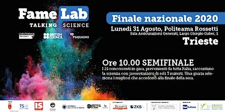 Semifinale nazionale FameLab Italia 2020 biglietti