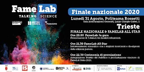 Finale nazionale FameLab Italia 2020 biglietti