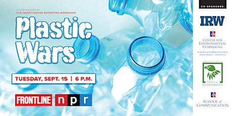 PBS FRONTLINE Presents: Plastic Wars tickets