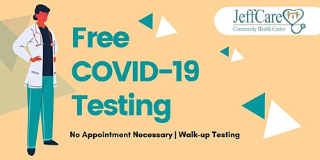 Free COVID-19 Testing tickets