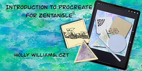 Introduction to Procreate  for Zentangle®️ Tickets