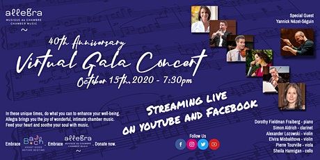 40th Anniversary Gala Concert with Yannick Nézet-Séguin tickets