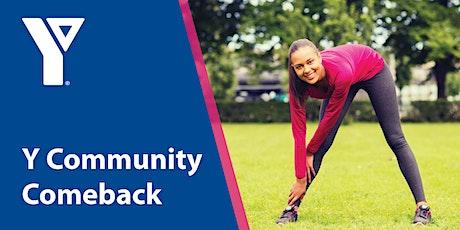 #YCommunityComeback Outdoor Class — Cardio Strength Don Wheaton Family YMCA tickets
