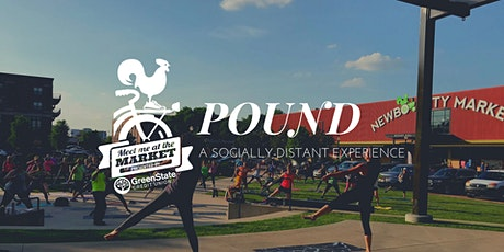 Meet Me at the Market: POUND Fitness tickets