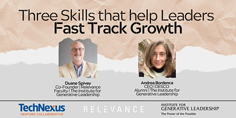 Three Skills that Help Leaders Fast Track Growth tickets
