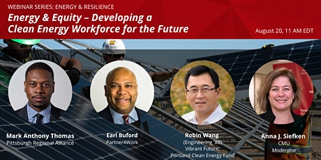 Energy & Equity – Developing a Clean Energy Workforce for the Future tickets
