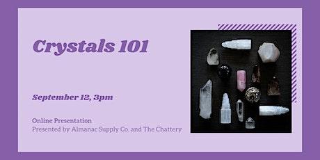 Crystals 101   - ONLINE CLASS tickets