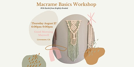 Macrame Basics Workshop tickets