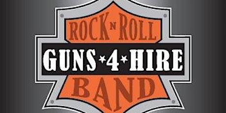 Guns 4 Hire Band End of Summer Concert tickets