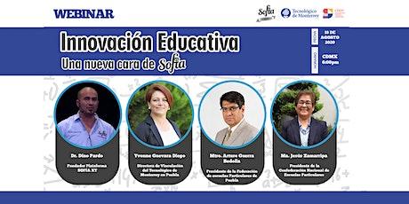 WEBINAR INNOVACIÓN EDUCATIVA, UNA NUEVA CARA DE SOFÍA XT entradas