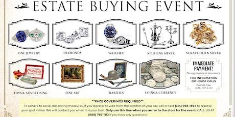 Estate & Antique Buying Event tickets