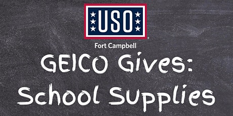 GEICO GIVES: School Supplies tickets