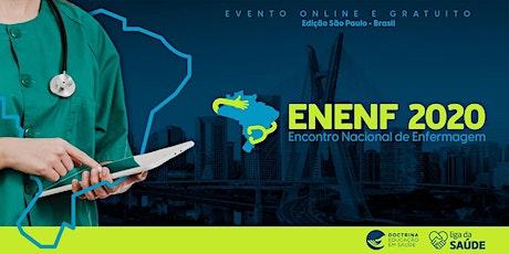 ENCONTRO NACIONAL DE ENFERMAGEM - EDIÇÃO SÃO PAULO 2020 ingressos