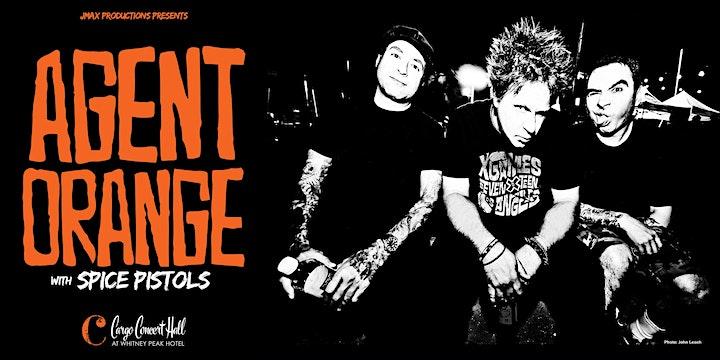 Agent Orange, Spice Pistols at Cargo Concert Hall image