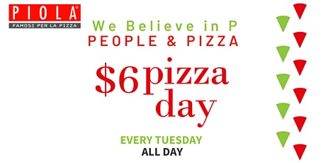 $6 Pizza Day tickets