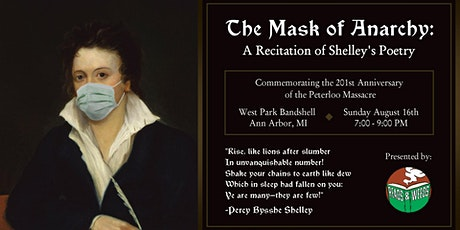 The Mask of Anarchy: A Recitation of Shelley's Poetry tickets