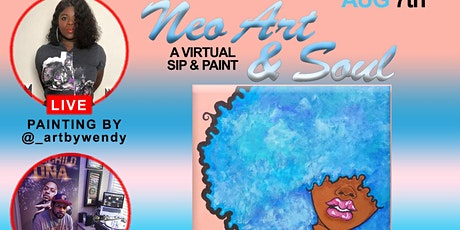 Neo Art & Soul: A Virtual Sip & Paint Live from Quarantine Quarters tickets