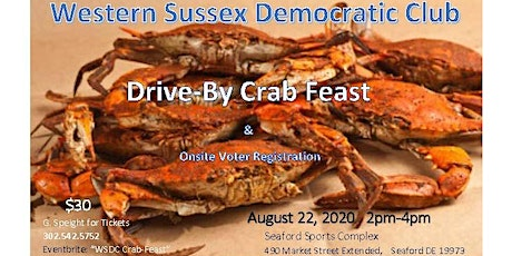 WSDC Drive-By Crabfeast tickets