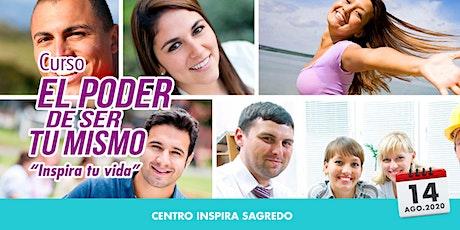 CDMX. CURSO EL PODER DE SER TU MISMO boletos