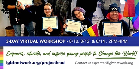 Project L.E.A.D. (LGBT Community members 21 and younger) tickets