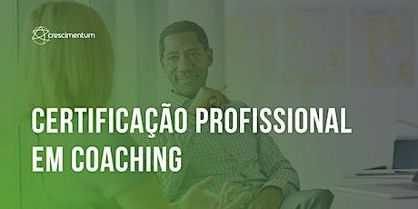 Certificação Profissional em Coaching ingressos