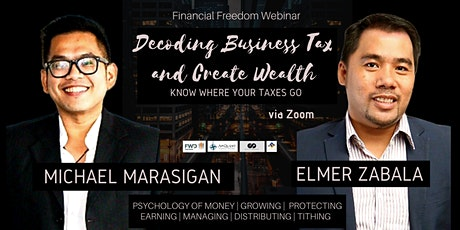 Decoding Business Tax and Create Wealth via Zoom tickets