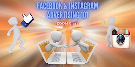 Social Media Advertising (Paid Social) 101: Facebook & Instagram tickets