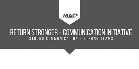 Return Stronger Communication Initiative tickets