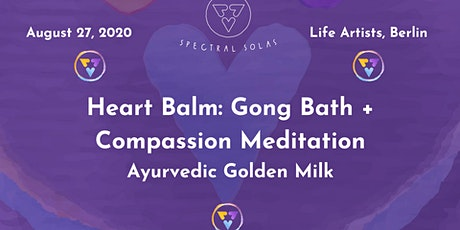 Heart Balm: Gong Bath + Compassion Meditation billets