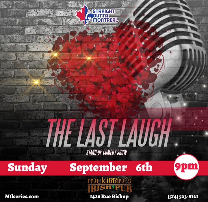 The Last Laugh ( Stand-Up Comedy ) Montrealcomedyseries.com image