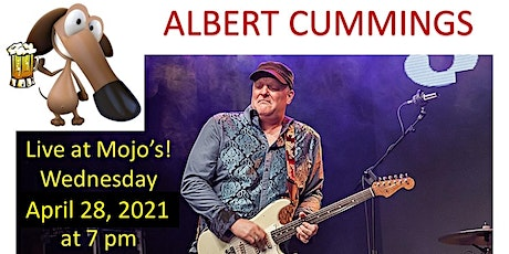 NEW DATE ANNOUNCED:  Albert Cummings at Mojo's in Evansville Indiana tickets
