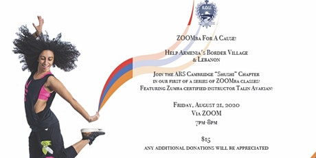 ZOOMba For A Cause - Lebanon & Tavush tickets
