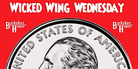 Wing Wednesday @ Berkshire House (25 cent wings, sports, $4 drink specials) tickets