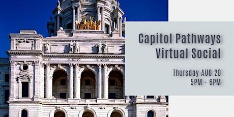 Capitol Pathways Virtual Social tickets