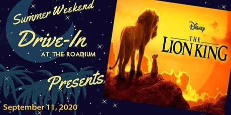 LION KING: End of Summer Weekend Drive-In at the Roadium tickets