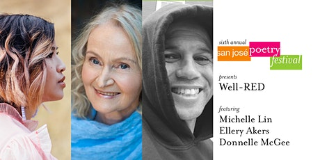 San José Poetry Festival | Well-RED featuring M. Lin, E. Akers, D. McGee tickets