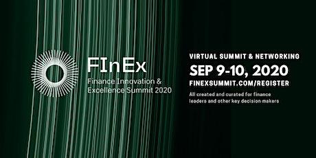 FInEx2020 - Finance Innovation & Excellence Summit entradas